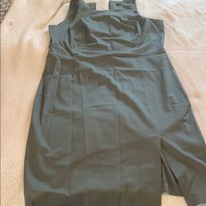 Banana Republic olive fit and flare olive size 16T